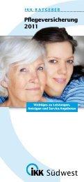 Pflegeversicherung 2011