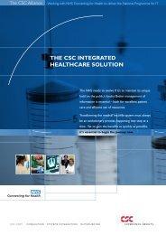 NHS brochure.qxd - CSC