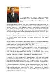 List do Akcjonariuszy GRUPA ACTION 2010.pdf - Action S.A.