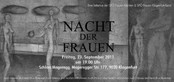 """ä . Fiiaitug 23. September 2011 ..; ~1 ä"""" um i9.gyg ... - Mein Klagenfurt"""