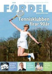 Klicka här för att öppna Fördel 1, 2013. - Karlskrona Tennisklubb