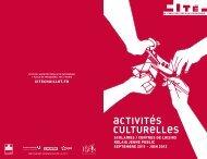 Brochure scolaire 2011-2012 - Cité de l'architecture & du patrimoine