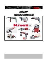katalog Kress 2009.indd - ARC-H Welding sro