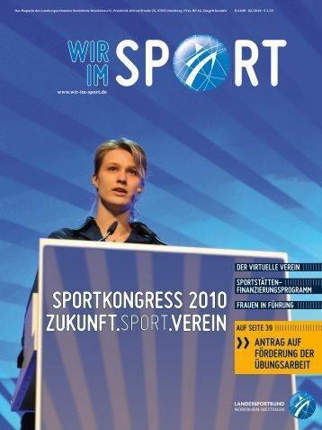 Wir im Sport – Das Magazin des Landessportbundes NRW