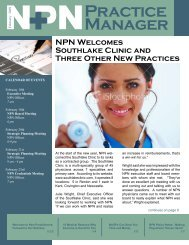 Practice Manager - Northwest Physicians Network