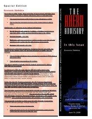 Special Edition Economic Statistics