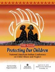 Sponsorship Opportunities - National Indian Child Welfare Association