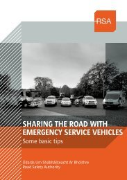 Sharing the road with emergency Service vehicleS - Cork County ...