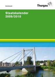Staatskalender 2009/2010 - SwissCommunity.org