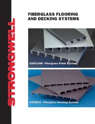 FIBERGLASS FLOORING AND DECKING SYSTEMS