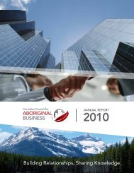 Building Relationships, Sharing Knowledge. - Canadian Council for ...