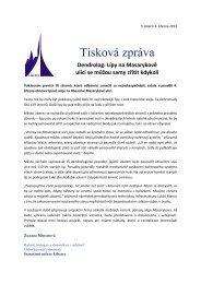 TZ - na Masarykově ulici začalo kácení stromů.pdf - Statutární město ...
