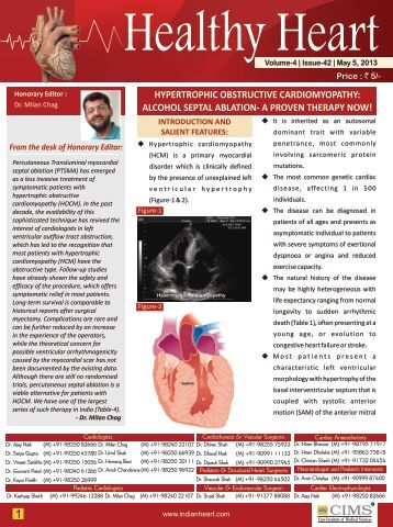 May-5 2013 Volume-4 Issue-42 - The Heart Care Clinic