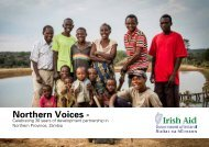 Zambia Northern Voices Booklet - Irish Aid