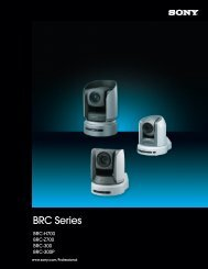 BRC Series - Sony