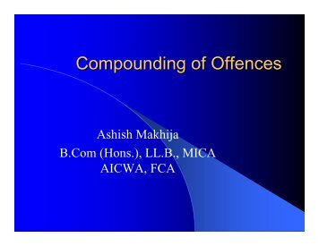 Compounding of Offences - tnkpsc.com
