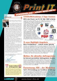 PDF - der Workshop - Laserline