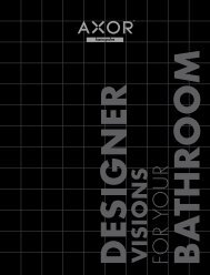 Kompakt katalog Axor - Hansgrohe