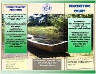 Peacegiving Court - Confederated Tribes of Coos, Lower Umpqua ...