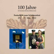 Festschrift zum Schützenfest - St. Franziskus-Xaverius ...