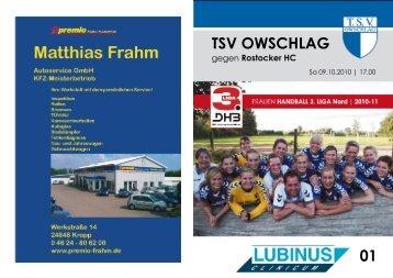 Heft 1 - TSV Owschlag