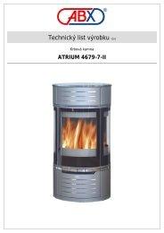 ABX s r.o. | Krbová kamna - Atrium 4679-7-II