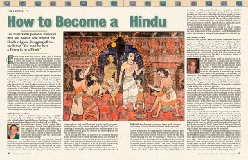 Join the Hindu - Hinduism Today Magazine