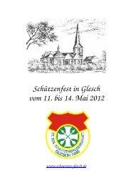 Festschrift 2012 - St. Sebastianus Schützenbruderschaft Glesch