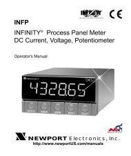 NEWPORT 205-Mc2 COMPACT TEMPERATURE METER  NEW WITH MANUAL RTD METER