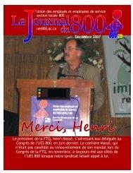 décembre 2007 - Union des employés et employées de service ...