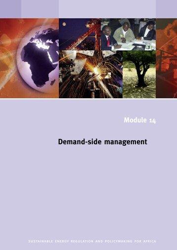 Demand-side management