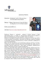 Gianfranco PURPURA - web journal