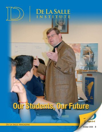 October 2008 Issue - De La Salle Institute
