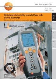 Spjutspetsteknik för installatörer och servicetekniker - Nordtec ...