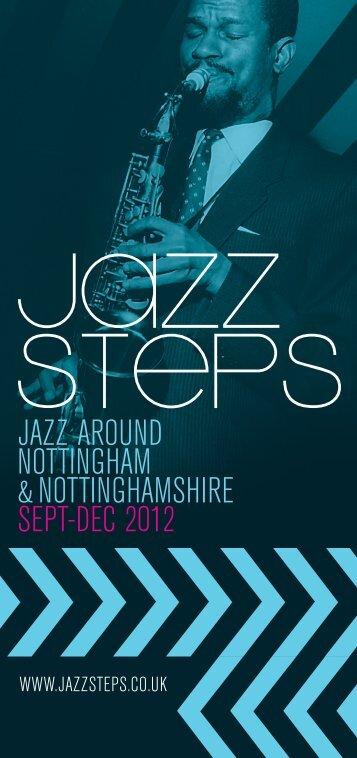 jazz around nottingham &nottinghamshire sept-dec 2012 - Jazz Steps