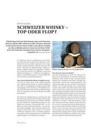 Schweizer whiSky – top oder flop? - Schweizer Schnaps Forum