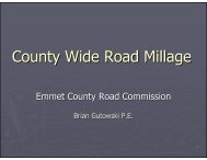 County Wide Road Millage