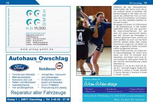 TSV OWSCHLAG TV Oyten