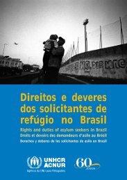 Direitos e deveres dos solicitantes de refúgio no Brasil