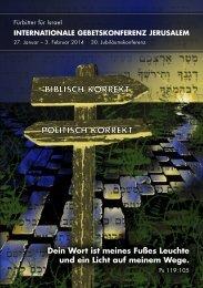 biblisch korrekt politisch korrekt biblisch korrekt ... - IFI-Deutschland