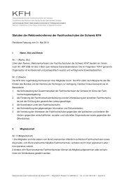 Statuten KFH revidierte Fassung Mai 2010