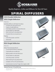 SPIRAL DIFFUSERS