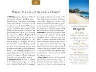 Whaπ Makes an Island a Home? - Islands