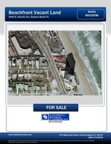 a Complete Marketing Package on 2400 Atlantic - Daytona Beach ...