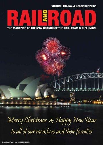 Rail and Road – December 2012 - locoexpress.com.au