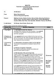 Federation Governor Minutes 12-09-12 - Shacklewell Primary School