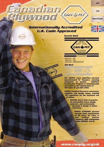 (880 kb) CANPLY Plywood Grading Guide for U.K.