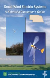 Small Wind Electric Systems - Nebraska Energy Office