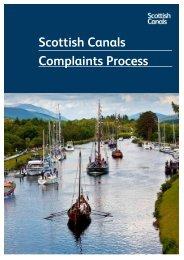 Scottish Canals Complaints Process
