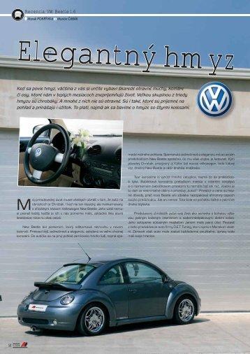 Recenzia: VW Beetle 1.6 - AutoTuning.sk